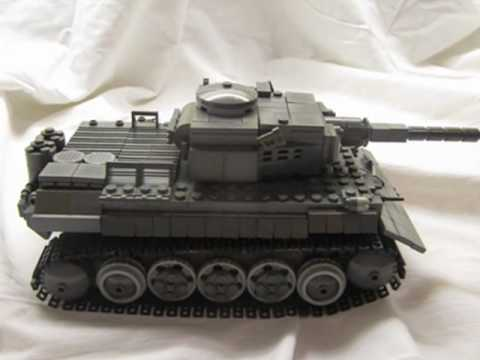LEGO MOC-15984 Custom WW2 German Tiger Tank PzKpfw VI …