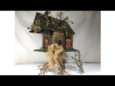 DIY Treehouse Using Cardboard