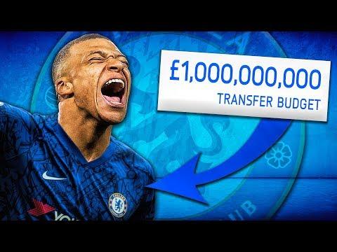 1,000,000,000 Chelsea Takeover Challenge! FIFA 20 Career Mode