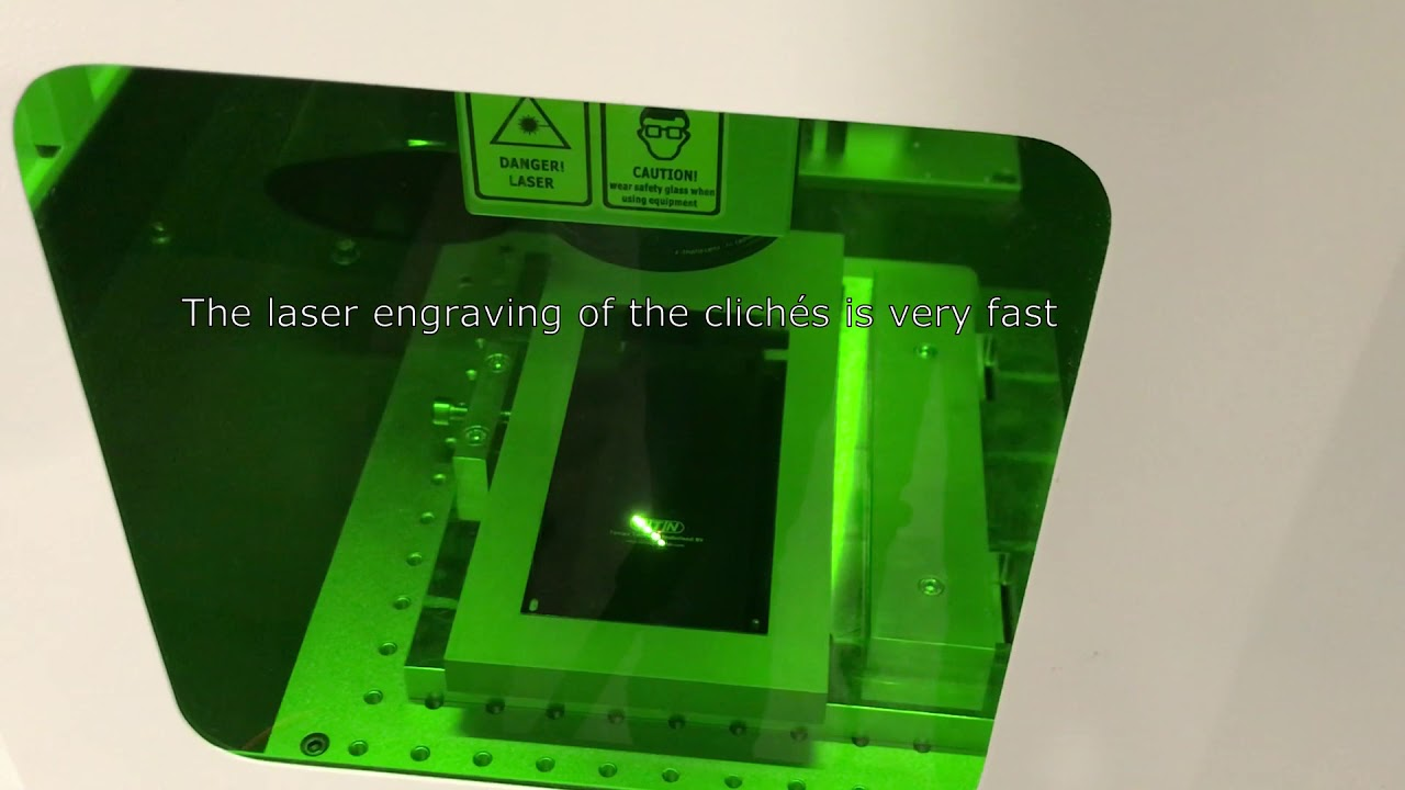 Cliché laser TTN - For pad printing plates (clichés) - Pad printing plate  making with laser engraver