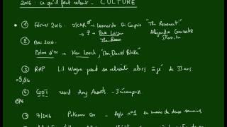 Score IAE Message - Culture 2016 en France - Ce qu'il faut retenir