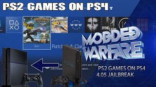 Running PS2 Games on PS4 Tutorial (4.05 Jailbreak)