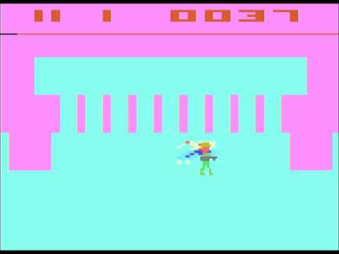 Superman (Atari 2600, 1979) speedrun 1:16