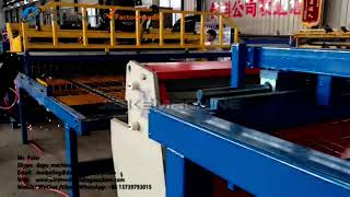 3-6mm Automatic Wire Mesh Welding Machine Sold To South Africa