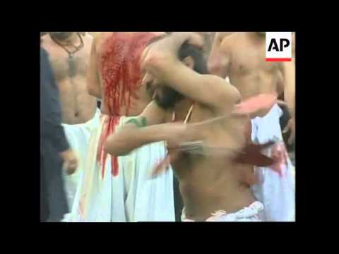 Shiites commemorate their holiest day