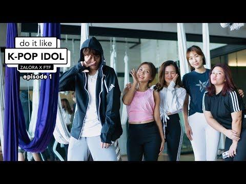 DO IT LIKE KPOP IDOL Episode 1 | Olahraga Ala Jennie Dan Jisoo Blackpink