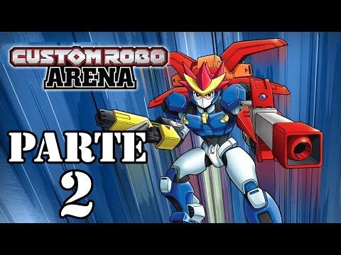 Let's Play: Custom Robo Arena - Parte 2