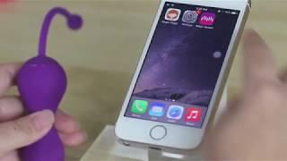 Видеоинструкция по подключению Magic Kegel Master к смартфону