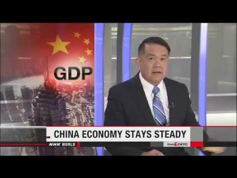 Insight on China's GDP,Shanghai Composite Index Down