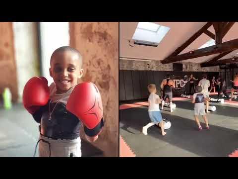 MMA BODY en plein Action By La Princesse du Ring Lyndsey THOMAS