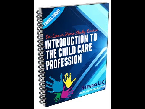Course: Introduction to the Child Care Profession Chap1 Ass1 - HELP