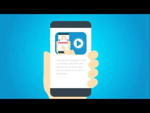 Get help to find a job with the Jobfit mobile app - YouTube