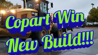 COPART WIN!! New Build 😎