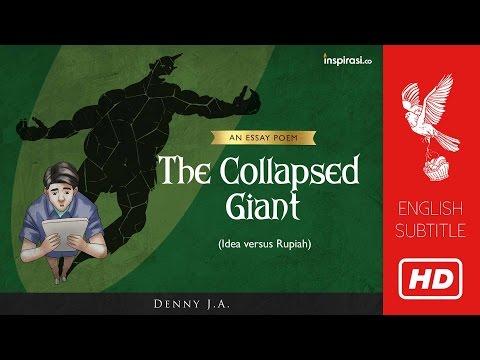 Denny JA's Poem: The Collapsed Giant - Ideas Versus Rupiah (17/22)