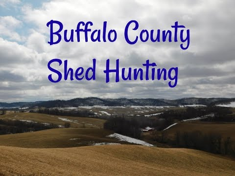Buffalo County Shed Hunting/ Big Buck Miss