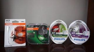 Philips VisionPlus 60%, OSRAM Original, Ultra Life, Philips LongLife EcoVision