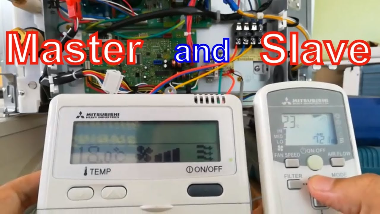 Mitsubishi Par 21maa Wiring Diagram Reinvent Your 2001 Mirage Radio How To Set Up Slave And Master On Remote Controller Ac Rh Youtube Com Outlander