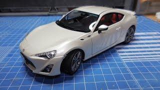 Aoshima 1:24 Toyota '86 pre-paint newbie modelers' plamo build 6 FINAL