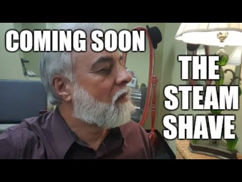 My new toy. The Facial Steamer for steam shaves.