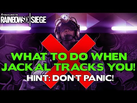 Rainbow Six Siege Tips || What to do when you are TRACKED BY JACKAL