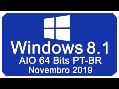 Como Baixar E Instalar Windows 8.1 AIO 64 Bits PT-BR Novembro 2019 Via TORRENT