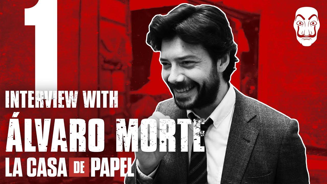 La Casa de Papel | Entrevista con Álvaro Morte #1 | Netflix