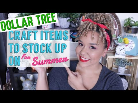 DOLLAR TREE Craft Items to Stock Up On!