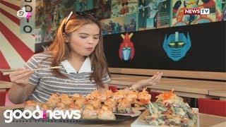 Good News: Bea Binene, bumisita sa mga kakaibang kainan sa Metro Manila