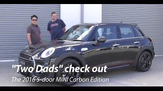 "2016 MINI 5-door ""Carbon Edition"" (""Two Dads"" Review) | BRRRRM Australia"