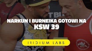 ⭐️⭐️⭐️KSW39: Narkun i Burneika pewni siebie z game planem! Zobaczcie nasz wyjątkowy wywiad! 2017 Video