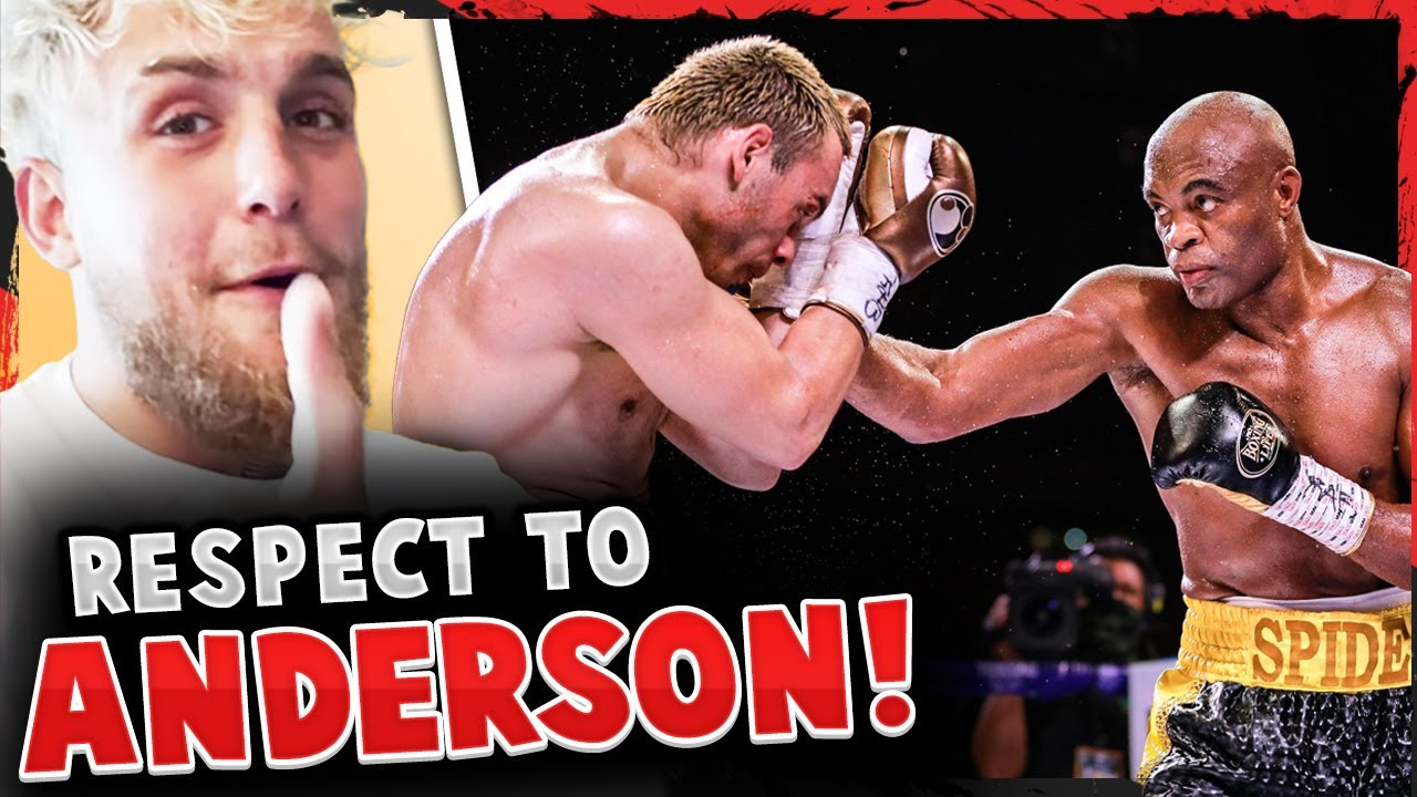 Reactions to Anderson Silva vs Julio Cesar Chavez Jr! Jake Paul PRAISES Silva! BJ Penn pays respect!