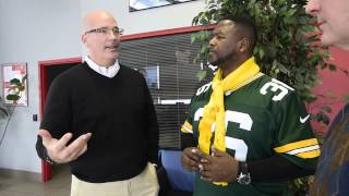 Hear what former Packers great LeRoy Butler is doing with Racine Automotive Group