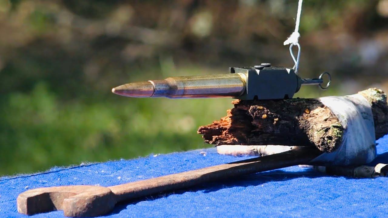 Explotando un 50 BMG en el Agua