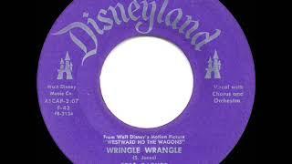 1957 HITS ARCHIVE: Wringle Wrangle - Fess Parker