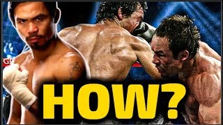 How Manny Pacquiao SURVIVED THE PUNCH that was supposed to end his career!