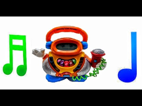 Karaoke Version ABC song Learning Tunes Karaoke Machine Education for Kids Educational Video