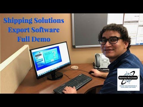 Shipping Solutions® Export Software—Full Demo