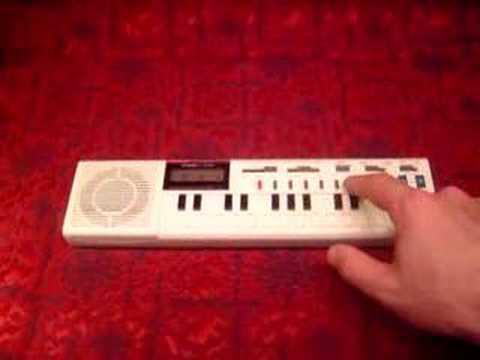 Casio mini keyboard calculator combo electronic piano