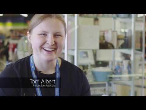 Torri, Production Associate - #workwhereyoushop