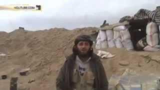 Chiến binh Hồi giáo nổ tung khi đang quay clip tuyên truyền