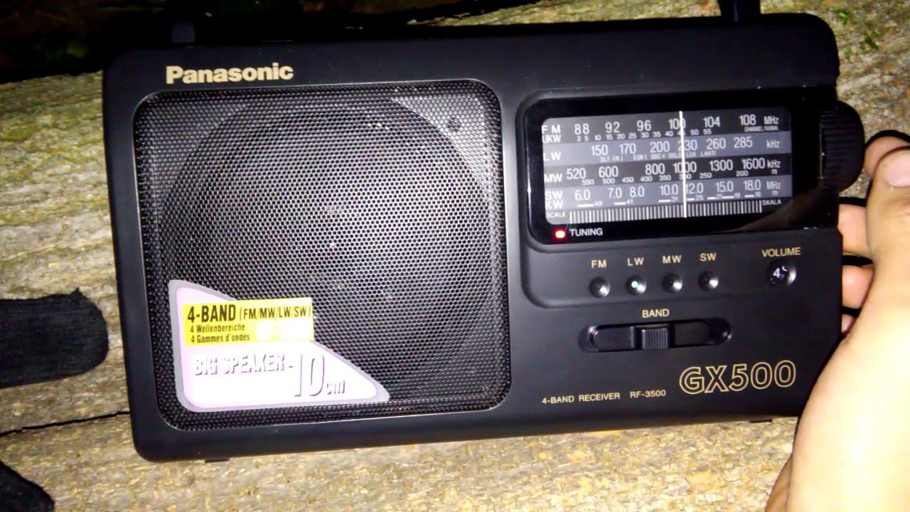 Радио Panasonic RF-800UEE1-K - 3D-обзор от Elmir.ua - YouTube