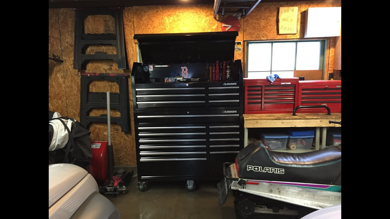Husky 52 Quot 18 Drawer Tool Box Chest Review Youtube