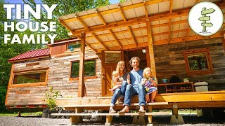 How This Frugal Family of 4 Paid Off $96k in Debt & Built a Custom Tiny House