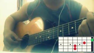 [guitar tab] Hợp âm chuẩn guitar | Yêu Một Người Có Lẽ | Lou Hoàng - Miu Lê