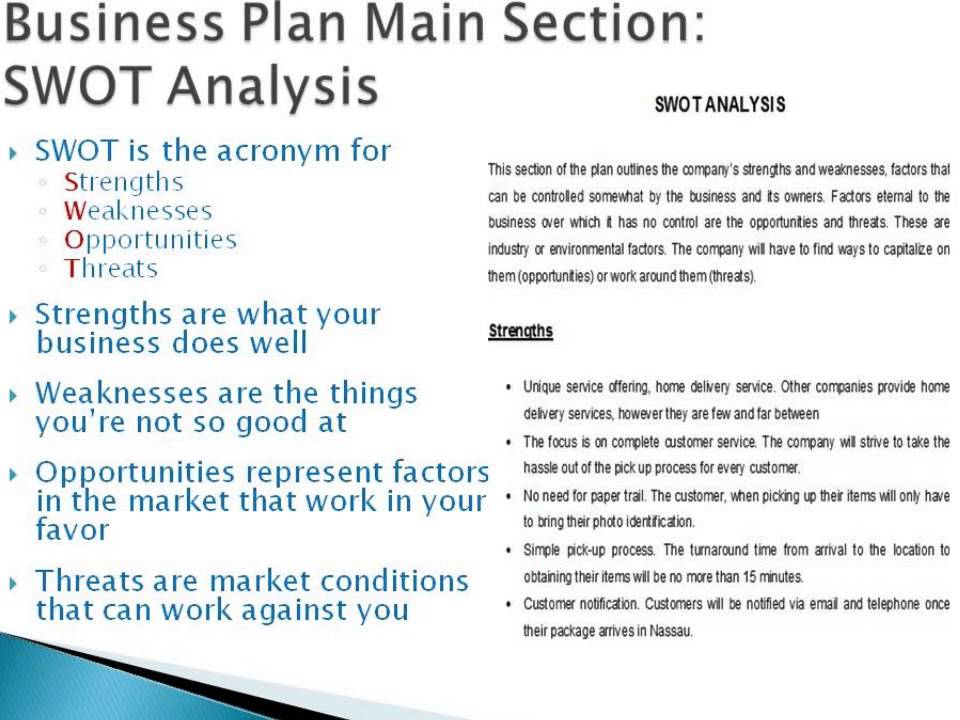 actual business plan examples