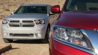 2013 Nissan Pathfinder vs Dodge Durango  0-60 MPH Mile High Mashup Review