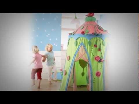 HABA Kinderzimmer Rosenfee - YouTube