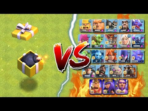 BIRTHDAY BOOM vs ALL TROOPS! Clash of Clans New Spell - Clashiversary CoC Update Event 2017!