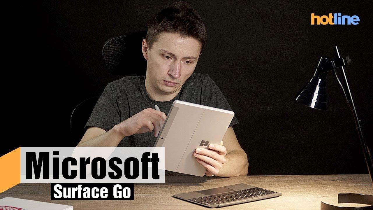 Microsoft Surface Go — обзор планшета