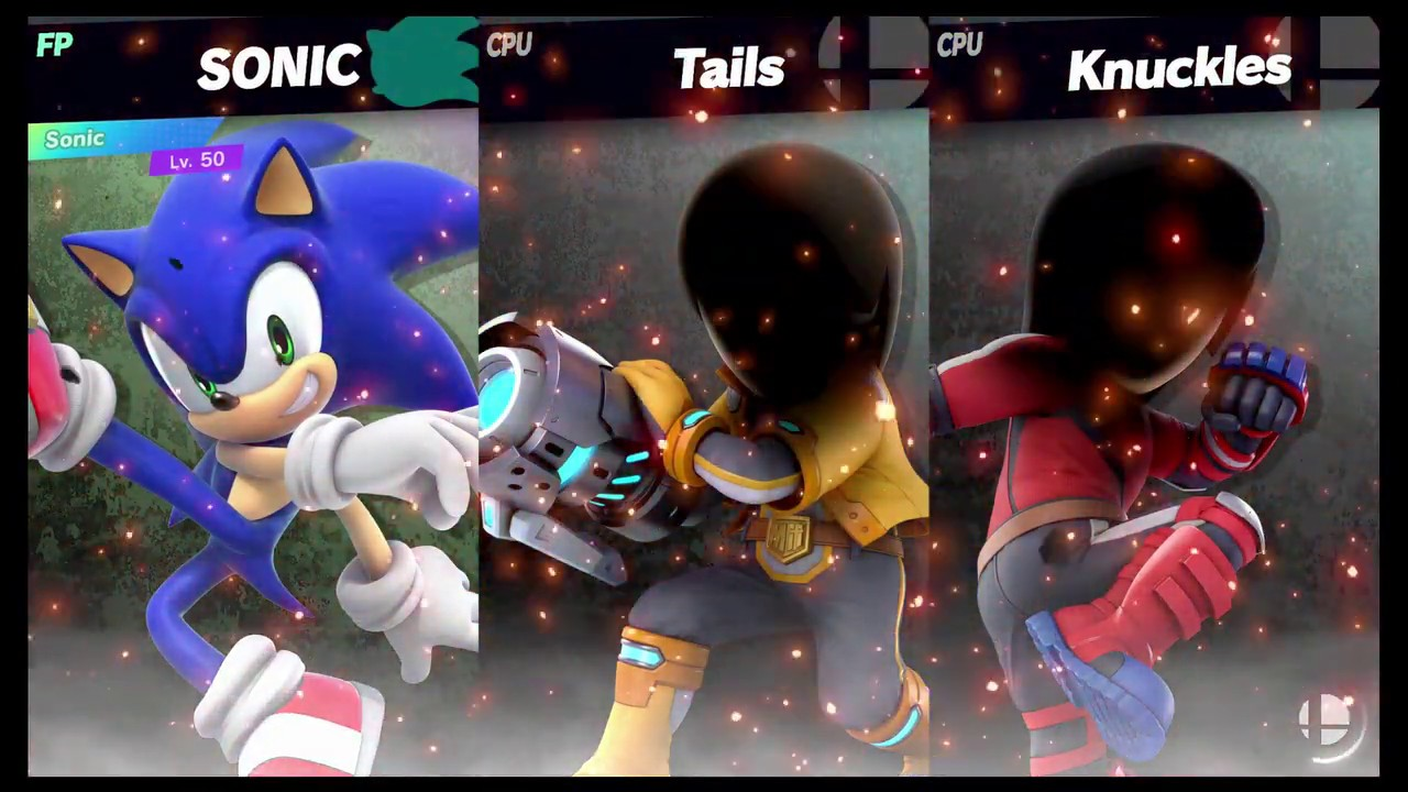 Super Smash Bros Ultimate Amiibo Fights Request 5457 Sonic Vs Tails Vs Knuckles Youtube